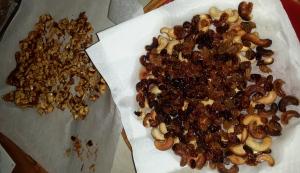 raisins et noix de cajou rotis - cajou caramelisé