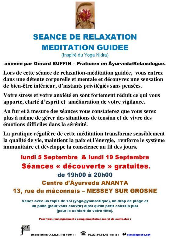 AFFICHETTE MESSEY RENTREE 2016 AVEC 2 SEANCES DECOUVERTE DE RELAXATION-MEDITATION GUIDEE-page-001