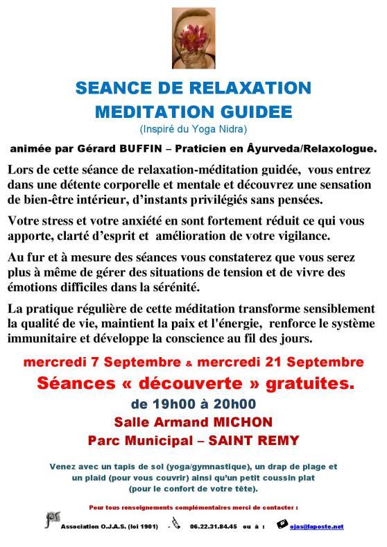 AFFICHETTE ST REMY RENTREE 2016 AVEC 2 SEANCES DECOUVERTE DE RELAXATION-MEDITATION GUIDEE-page-001