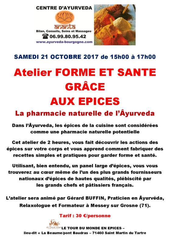 AFFICHETTE ATELIER FORME ET SANTE EPICES 21 OCTOBRE 2017-page-001