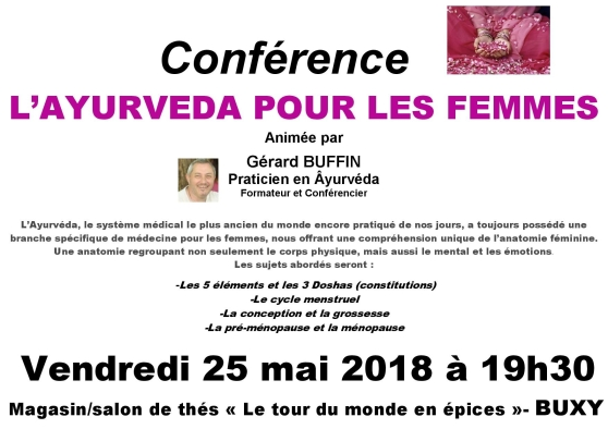 AFFICHETTE TOUR DU MONDE EN EPICES CONF AYURVEDA POUR LES FEMMES MAI 2018-page-001