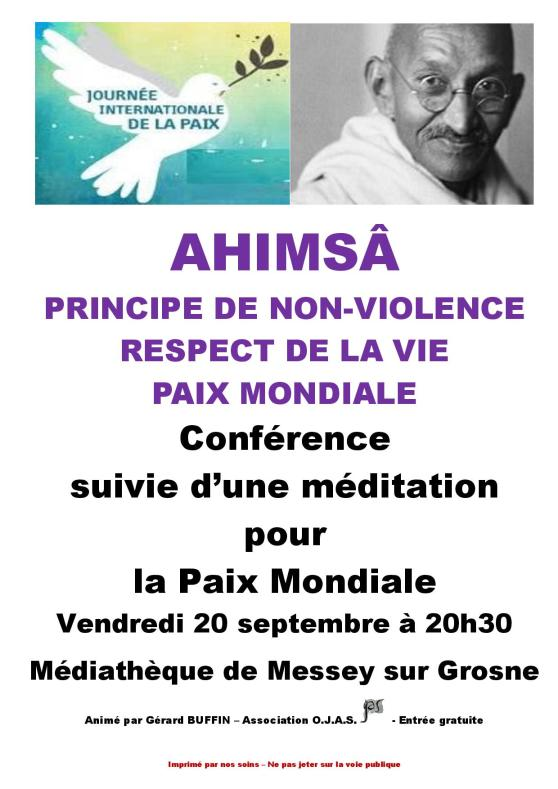 AFFICHETTE CONFERENCE MESSEY AHIMSA NON VIOLENCE-page-001